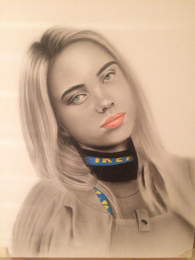 Billie Eilish by artyharty